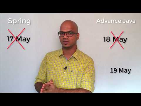 New Course Announcement | Adv Java | Spring