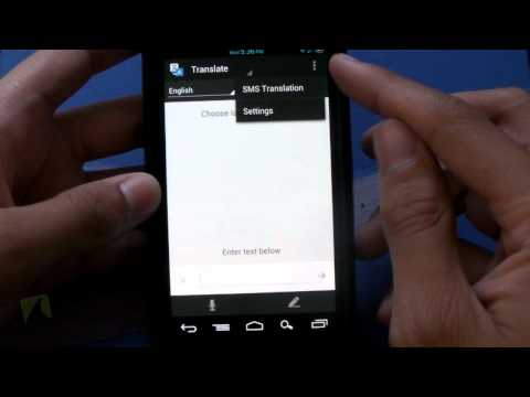 Google Translate by Google Inc. | Droidshark.com Video Review for Android