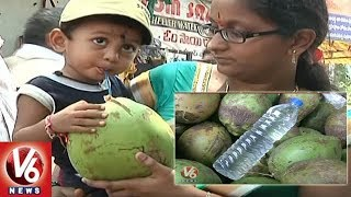 Doctors Warn People Not To Use Plastic Bottles For Coconut Water | Hyderabad