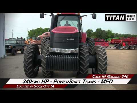 Case IH Magnum MX340, 1298 Hrs, 4 Rear Remotes, Powershift Tractor Sold on ELS!
