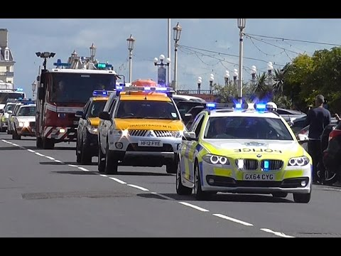 Eastbourne 999 2016 - Emergency Vehicle Cavalcade