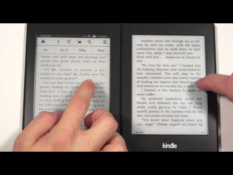 Amazon Kindle Paperwhite 1 vs Paperwhite 2