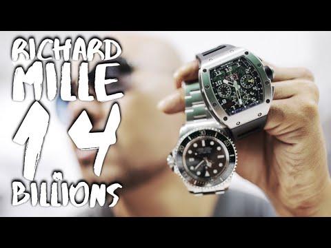 REVIEW JAM TANGAN MEWAH  1.4 MILLIAR RICHARD MILLE (Dan kenapa saya harus punya)