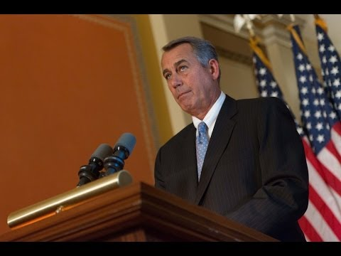 Speaker Boehner on VA Secretary Eric Shinseki's Resignation