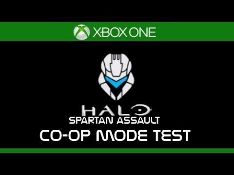 #HaloSpartanAssault (XboxOne) | Co-Op Mode Test