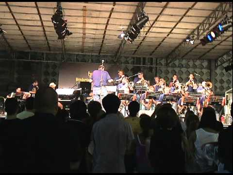 Decoupage - UCO Jazz Ensemble at the Umbria Jazz Festival 2010
