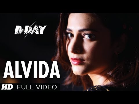 Alvida D-Day Full Video Song | Arjun Rampal Shruti Hassan Rishi...