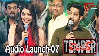 Temper Audio Launch | Jr Ntr | Kajal Agarwal | Puri Jagannadh | 07
