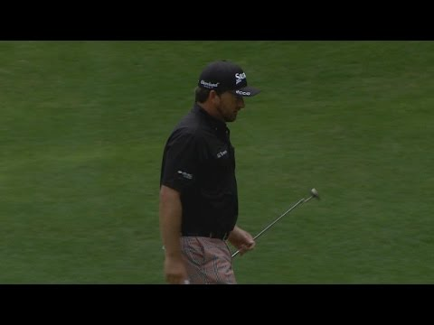 Graeme McDowell's 26-foot birdie putt finds the cup at RBC Heritage