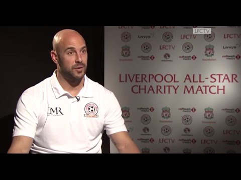 Reina: Anfield All-Star return will be emotional