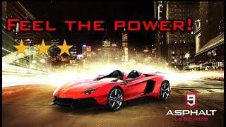 Asphalt 9 Multiplayer - HOOD-LESS BEAST? Lamborghini Aventador J [Rank 3417]
