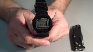 Часы CASIO G-SHOCK DW-5300 идут 18 лет!