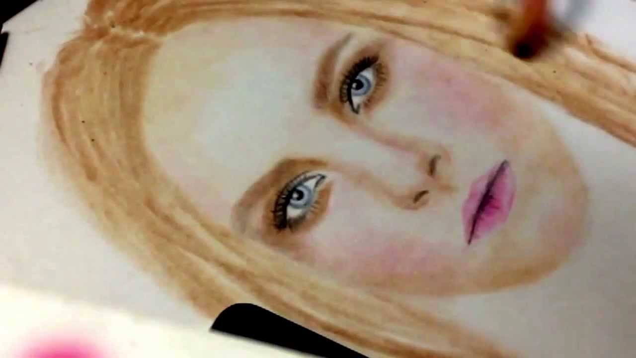 Pan Pastel Drawing Speed Drawing Pan Pastel my