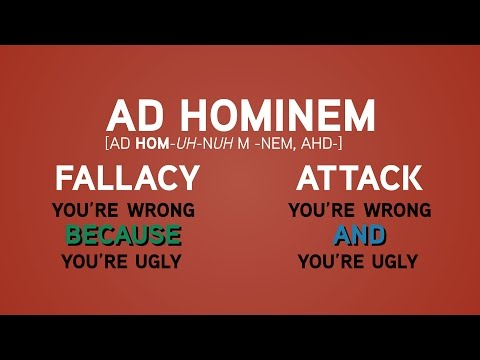Ad Hominem Fallacy: A Lesson for Sea World