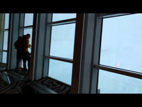 Anthem of the Seas (Feb 7, 2016) - Storm from Two70