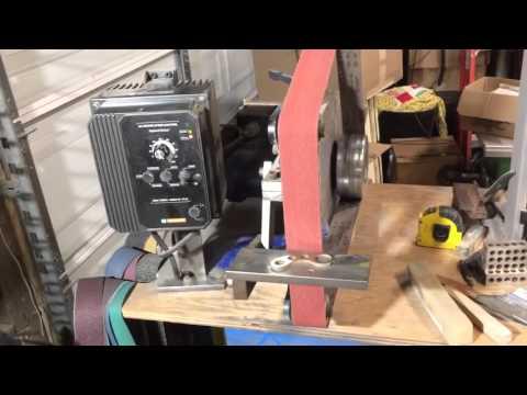 Esteem knife making grinder review/quick look