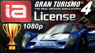 Gran Turismo 4 [1080p] - IA-License - Gold & Prize Cars!!!!
