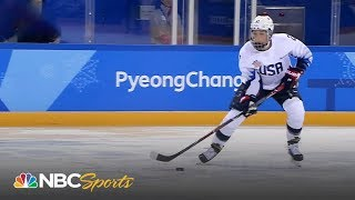 Full highlights from USA vs Canada women's hockey game