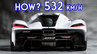 This is Why Koenigsegg Jesko Absolut can do 532km/h - Become Fastest supercar in the world
