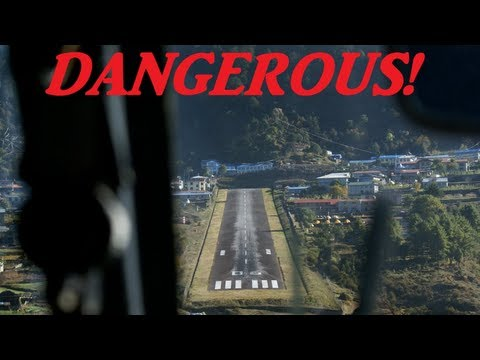 10 WORLDS MOST DANGEROUS AIRPORTS HD 1080p