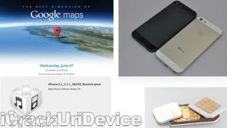 Next Dimension Of Google Maps, New iOS 5.1.1 Build, Leaked 'iPhone 5' Back, Project Glass & More