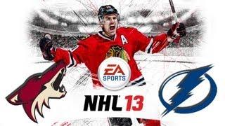 Český Let´s play | NHL 13 | Multiplayer | PHX - TB | Xbox 360