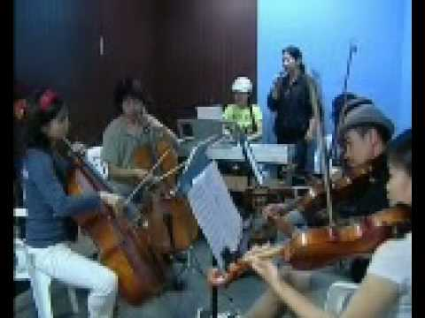 Khanh Ly & The friends rehearsing @ Spotlight School