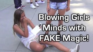 Blowing Girls Minds with FAKE Magic!