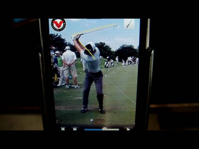 Self-Diagnose Your Swing on the V1 Golf iPhone App (part 2, Face On View)