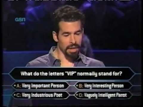 Who Wants to be a Millionaire 7/9/00 FULL SHOW