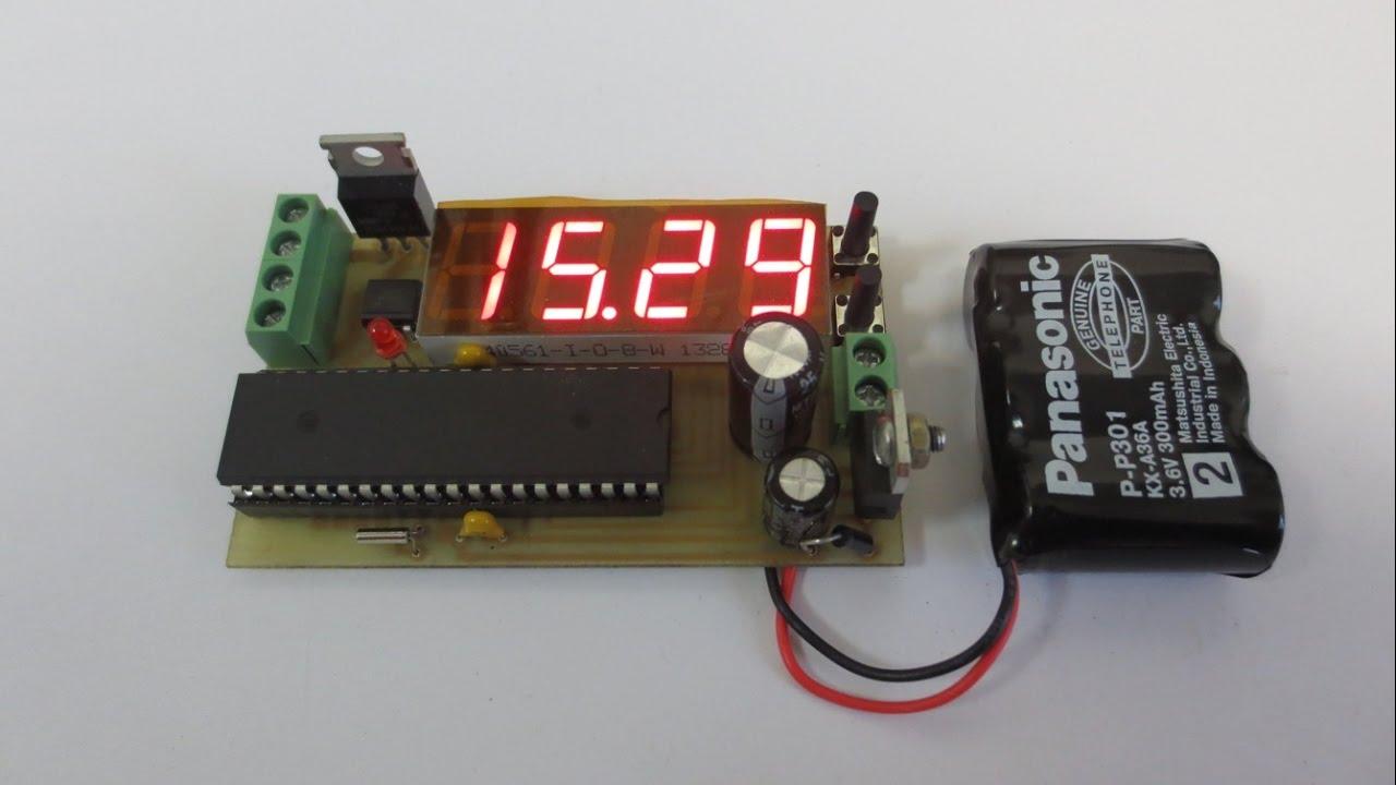 Микроконтроллер реле времени своими руками 93