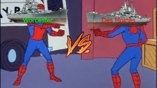 Worcester vs Des Moines