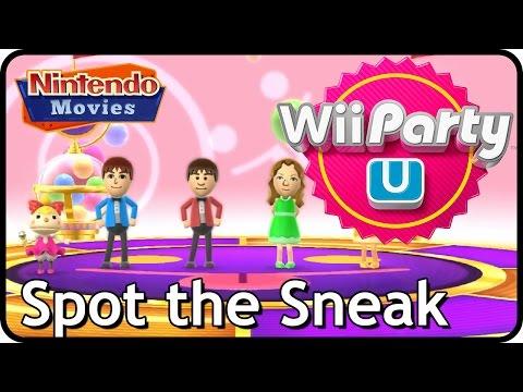 Wii Party U - Spot the Sneak