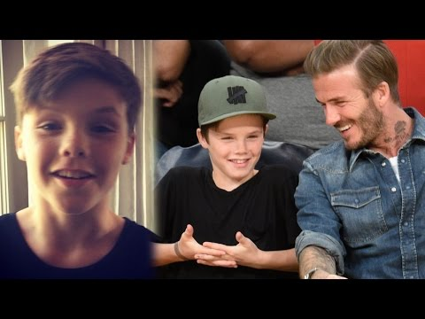 Victoria Beckham's Son Cruz The Next Justin Bieber? Shows Off Vocals On Instagram