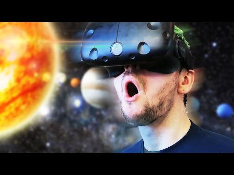 TRAVEL THROUGH SPACE! | The Lab #2 (HTC Vive Virtual Reality)