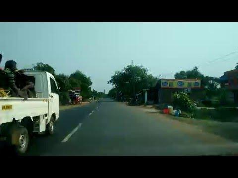 On The Way to Kolkata from Digha Sea Beach via Digha-Contai Road.