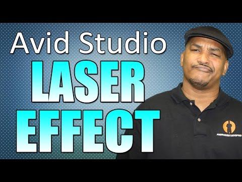 Avid Studio & Pinnacle Studio 16 Ultimate - Laser Tutorial