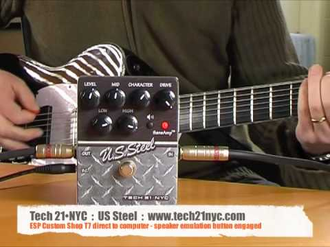 Tech 21•NYC: US Steel with ESP T7 (Direct to computer)