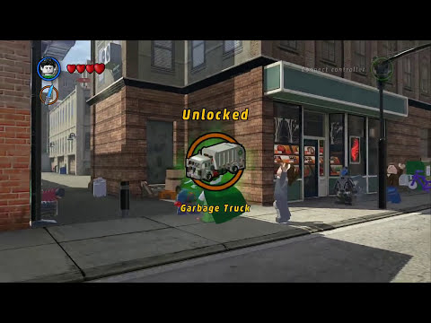 LEGO Marvel Super Heroes - Nightmare Unlocked + Free Roam Gameplay