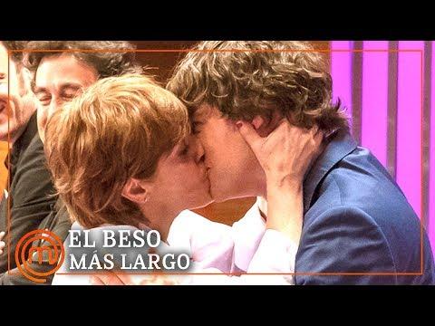 El beso más largo de todo MasterChef | MasterChef 7