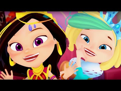 Сказочный патруль - Королева бала -15-я серия - мультфильм про девочек-волшебниц