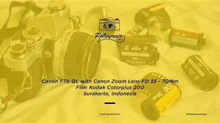 Canon FTb QL with Canon Zoom Lens 35-70mm (Sample Photos)