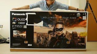 Panasonic EZ952/ EZ950 OLED TV Unboxing
