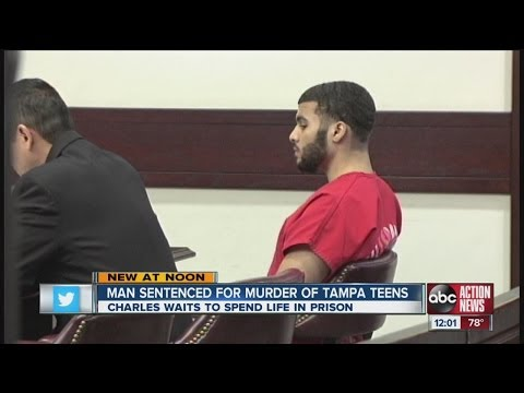 Charles Waits gets life in prison at sentencing in murders of two South Tampa teens