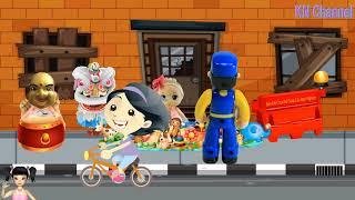 ChiChi ToysReview TV - Trò Chơi búp bê làm từ thiện để giúp đỡ các bạn nghèo khó