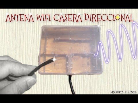 BRICOZETA- (ANTENA WIFI CASERA DIRECCIONAL 3)