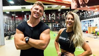 Booty Building With Whitney Simmons - Trainer Edition Part 1