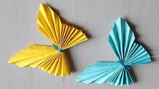 DIY -  Easy Paper Butterfly Origami  || Cute & Easy Butterfly || Origami for kids