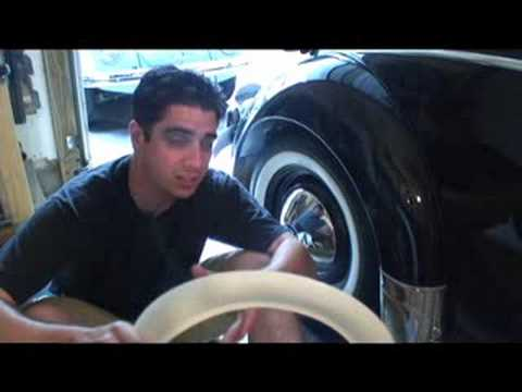 Classic VW Beetle How To Restore Tip Portawalls White Walls
