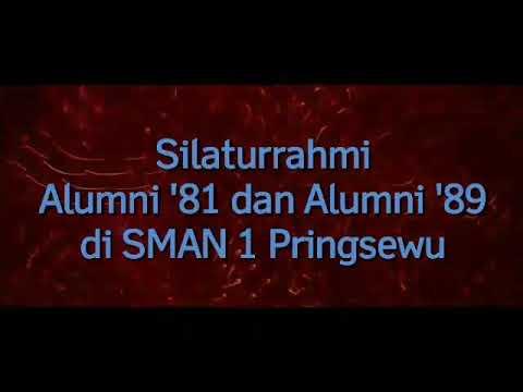 SMANSA 363 Alumni 81 dan 89 Silaturahmi ke SMANSA Pringsewu